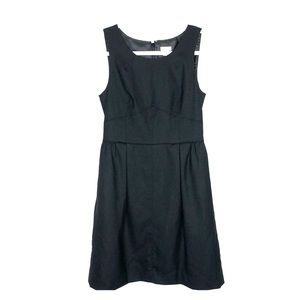 J.Crew Little Black Shift Dress Pockets Sz 4
